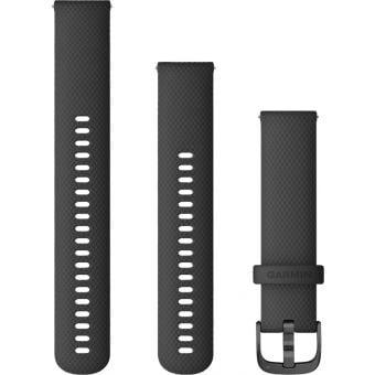Garmin Venu Quick Release 20mm Silicon Band Black/Slate