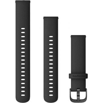 Garmin vivoactive 4 Quick Release 18mm Silicon Band Black/Slate