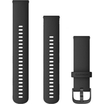Garmin vivoactive 4 Quick Release 22mm Silicon Band Black/Slate