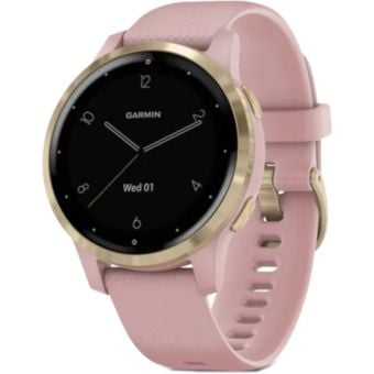 Garmin Vivoactive 4S GPS Smart Watch Dust Rose/Light Gold