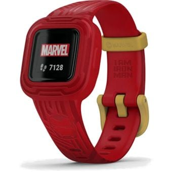 Garmin Vivofit jr.3 Adjustable Band Activity Tracker Marvel Ironman