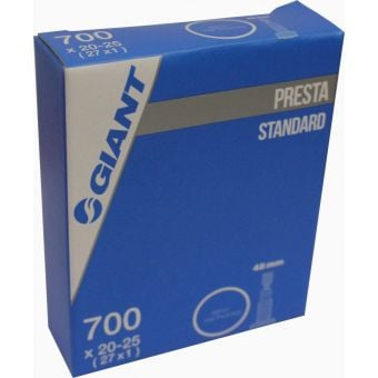 Giant 700x20/25c Presta Valve 48mm Threaded Tube