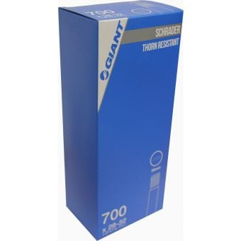 Giant 700x28/32c Schrader Valve 35mm Thorn Resistant Tube