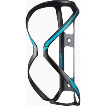 Giant Airway Lite Carbon Bottle Cage Black/Gloss Blue