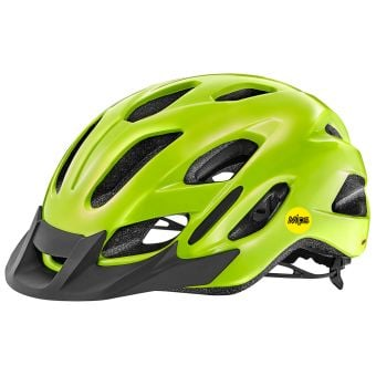 Giant Compel MIPS Helmet (53-61cm) Glossy Fluo Yellow