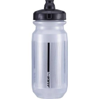 Giant PourFast Double Spring 600mL Water Bottle Transparent Black/Black