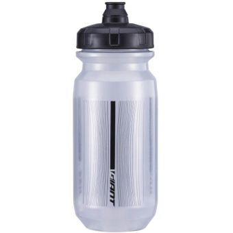 Giant PourFast Double Spring 600mL Water Bottle Transparent/Grey