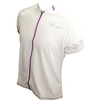 Giant Liv Radiant SS Womens Jersey White X-Large