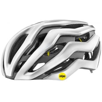 Giant Rev Pro MIPS Helmet Metallic White