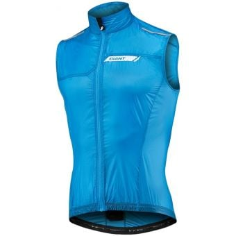Giant Superlight Wind Vest Cyan 2020