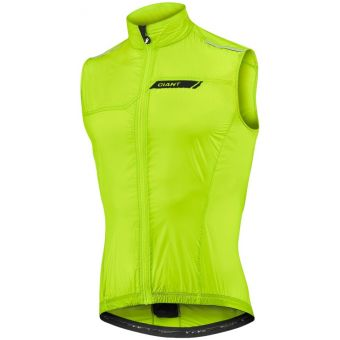 Giant Superlight Wind Vest Neon Yellow 2020