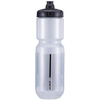 Giant PourFast Double Spring 750mL Water Bottle Transparent/Grey