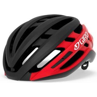 Giro Agilis MIPS Road Helmet Matte Black/Red Fade