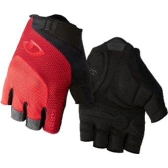 Giro Bravo Gel Gloves Black/Red