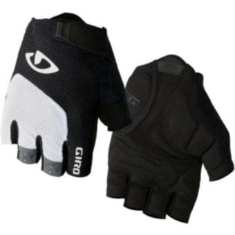 Giro Bravo Gel Gloves White/Black