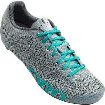 Giro Empire E70 Womens Knit Road Shoes Gray/Glacier