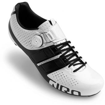 Giro Factor Techlace BOA IP1 Road Shoes White/Black