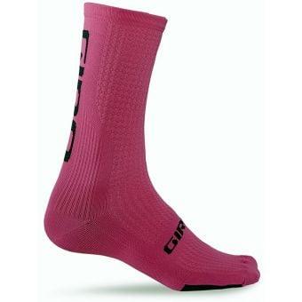 Giro HRc Team Socks Pink/Black