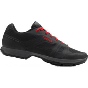 Giro Gauge SPD MTB Shoes Black/Red Size 41