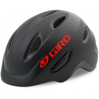 Giro Scamp Youth Helmet Matte Black/Red X-Small