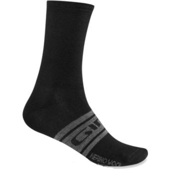 Giro Seasonal Merino Wool Socks Black Large
