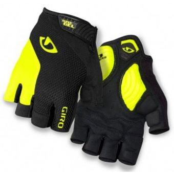 Giro Strade Dure Supergel Gloves Yellow/Black 2015