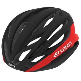 Giro Syntax MIPS Road Helmet Matte Black/Bright Red Medium