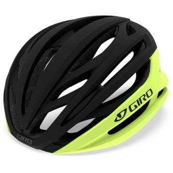 Giro Syntax MIPS Road Helmet Matte Black/Highlight Yellow Medium