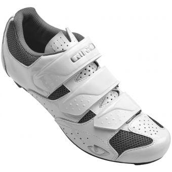 Giro Techne SPD Womens Road Shoes White/Silver