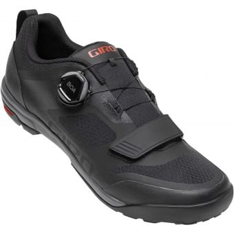 Giro Ventana BOA MTB Shoes Black/Dark Shadow Size 42