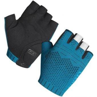 Giro Xnetic Fingerless Road Gloves Iceberg Blue