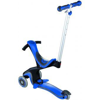 Globber Evo Comfort Scooter Navy Blue