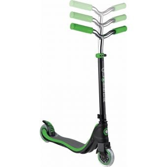 Globber Flow 125 Scooter Black/Neon Green