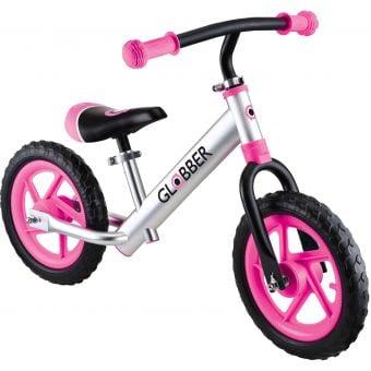 Globber Go Bike Alloy Balance Bike Pink