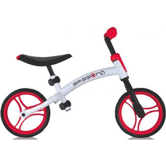 Globber Go DUO Balance Bike White/Red