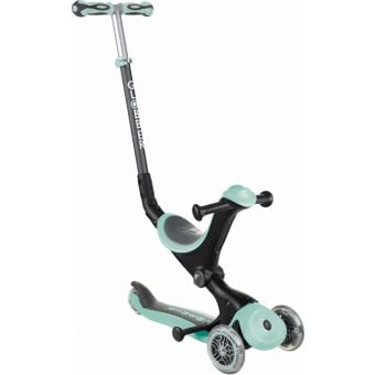 Globber Go Up Deluxe Convertible Ride On Scooter Mint