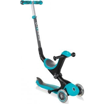 Globber Go Up Deluxe Convertible Ride On Scooter Teal