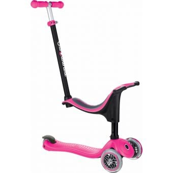 Globber Go Up Sporty Scooter Deep Pink