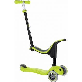Globber Go Up Sporty Scooter Lime Green