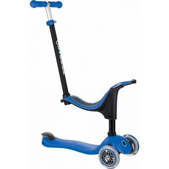 Globber Go Up Sporty Scooter Navy Blue