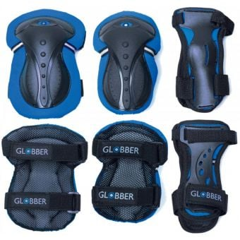 Globber Junior Protective Pad Set Navy Blue