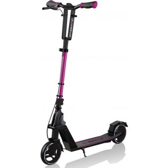 Globber One K 165 BR Adjustable T-Bar Scooter Ruby