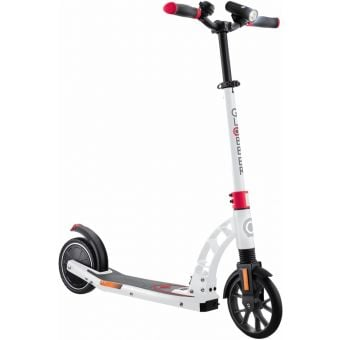 Globber ONE K E-Motion 10 Electric Scooter White/Red