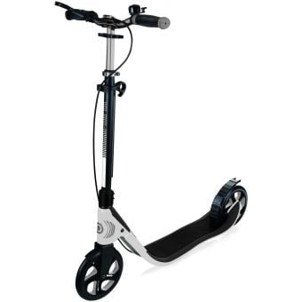 Globber One NL 205 Deluxe Adult Scooter White/Grey