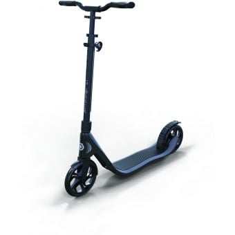 Globber One NL 205 Scooter 2017 Black-Charcoal Grey Folded