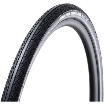 Goodyear Transit Tour 700x40c Silica4 Reflective Tubeless Folding Tyre Black