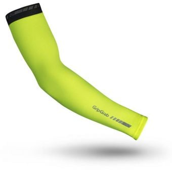 Grip Grab Arm Warmers Classic Hi-Vis Yellow