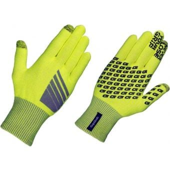 GripGrab Primavera Merino Gloves Hi-Vis