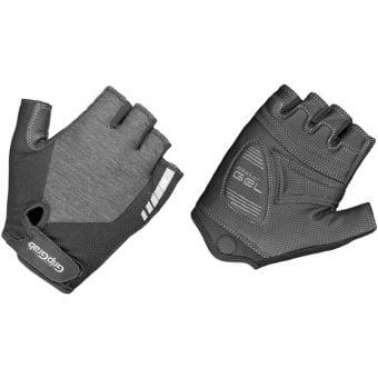 Grip Grab ProGel Fingerless Womens Gloves Grey