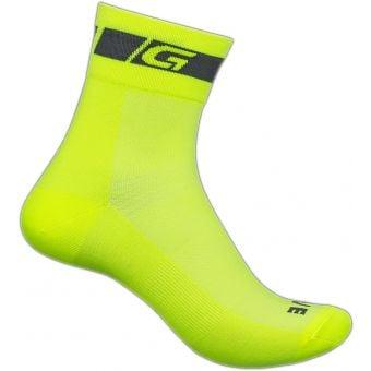 Grip Grab Summer Regular Cut Sock Hi-Vis Yellow